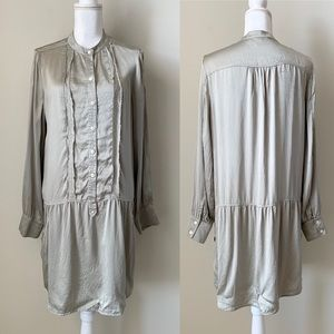 Banana Republic 100% Silk dress with pockets